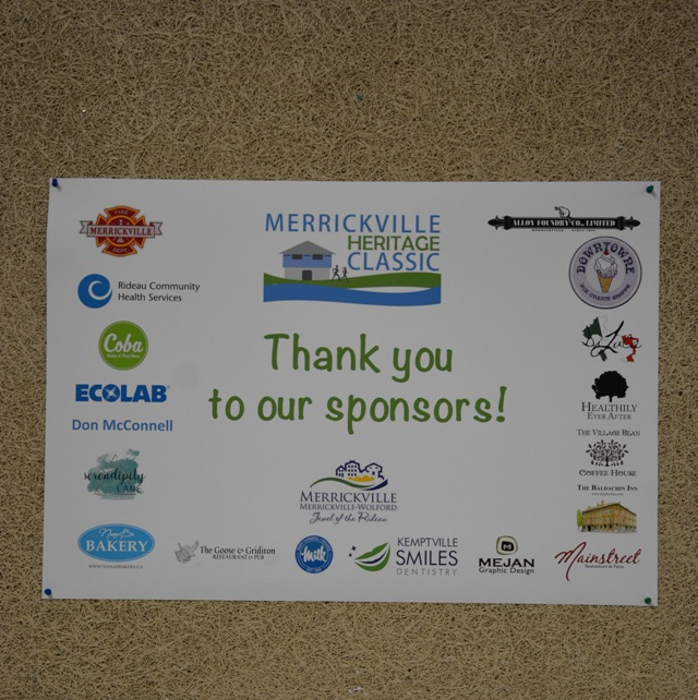 Thank-you to our Sponsors!