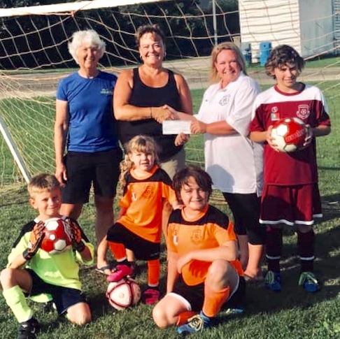 Run Merrickville Donates to Merrickville Soccer Club!