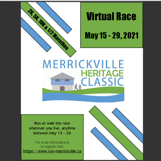 Merrickville Heritage Classic 2021 is open for registrations!